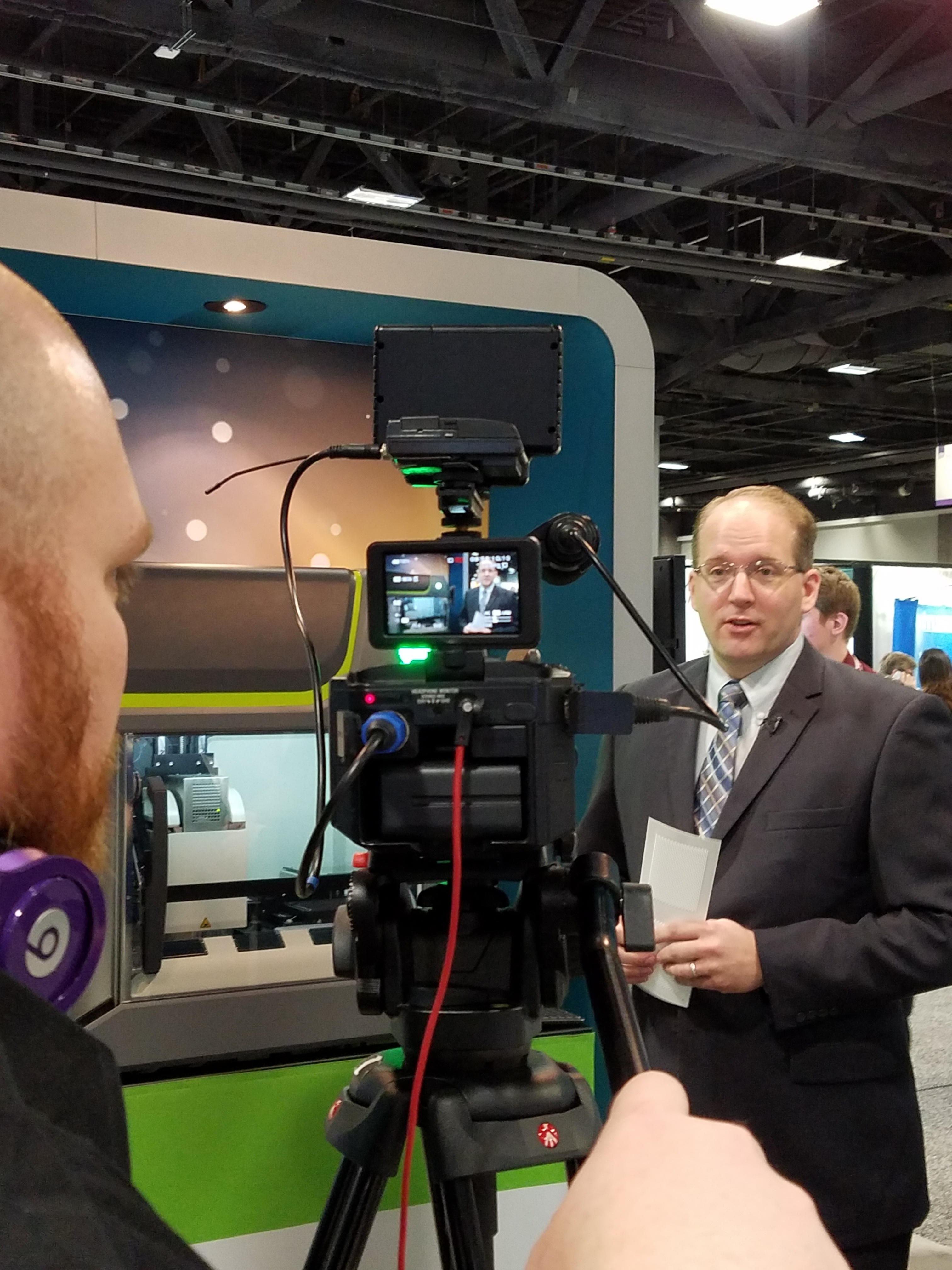 Darren Cook, VP Global Sales, LGC discusses the IntelliQube with LabTube