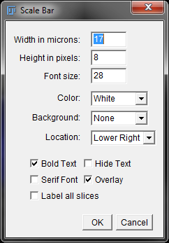 how to use imagej to add scale bar