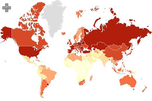 lung cancer map