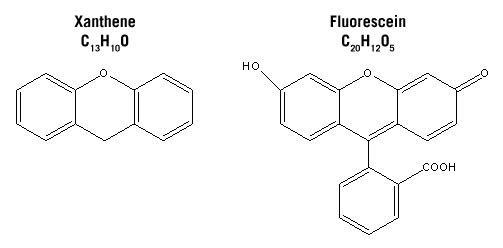 xanthene fluorescein